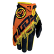 Orange/Yellow SX1 Gloves