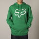 Green Legacy Fox Head Hoody