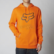 Orange Legacy Fox Head Hoody