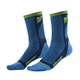 Blue/Green Dual Sport Cool Socks