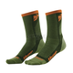 Green/Orange Dual Sport Cool Socks