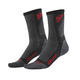Charcoal/Red Dual Sport Cool Socks