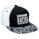 Black/White Arcane Snapback Hat - 2501-2243