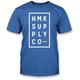 Blue Boxed T-Shirt
