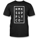 Black Boxed T-Shirt