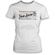 Women's White Stitch T-Shirt