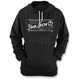 Women's Black Stitch Hoody