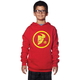 Youth Red/Yellow Gasket Pullover Hoody