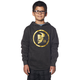 Youth Charcoal/Gold Gasket Pullover Hoody
