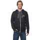 Charcoal/Heather Winners Circle Zip-Up Hoody