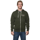 Olive/Heather Winners Circle Zip-Up Hoody