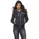 Womens Charcoal Heather Shop Zip-up Hoody