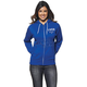 Womens Blue/White Shop Zip-up Hoody