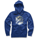 Blue Disruption Zip Up Hoody