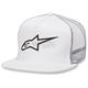 White Corp Trucker Hat - 102581003020