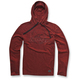 Red Borsen Pullover Hoody