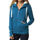 Women's Emerald Cliffhanger Sherpa Zip Hoody
