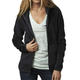 Women's Heather Black Sleet Lush Zip Hoody