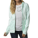 Women's Pale Green Sleet Lush Zip Hoody