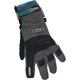 Womens Charcoal/Blue Versa Style Gloves