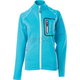 Womens Aqua Blue Performance Fleece