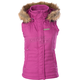 Womens Berry Hooded Vest