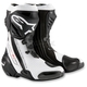 Black/White Supertech R Boots