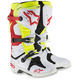 White/Red/Yellow Tech 10 Boots