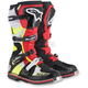 Black/Red/Yellow Tech 8 RS Boot
