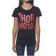 Girls Black Crush T-Shirt