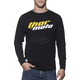 Black Total Moto Long Sleeve Tee