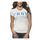 Womens Ivory Shop T-Shirt