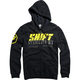 Black Stockade Zip Hoody