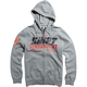 Heather Graphite Stockade Zip Hoody