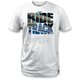 White Ride Photo T-Shirt
