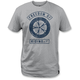 Heather Gray Freedom Lock Up T-Shirt