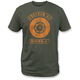 Military Green Freedom Lock Up T-Shirt