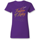 Women's Purple Free T-Shirt