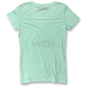Women's Mint Green PCR V-Neck T-Shirt