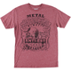 Mens Burgundy Mock T-Shirt