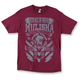 Mens Burgundy Chalk T-Shirt