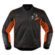 Black/Orange Wireform Jacket