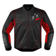 Black/Red Wireform Jacket