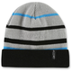 Gray Teched Beanie - F45191101GRY