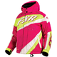 Youth Fuchsia/White Weave/Electric Lime Cold Cross Jacket