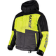 Youth Black/Hi-Vis/Charcoal Squadron Jacket