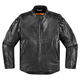 Black Leather Retrograde Jacket
