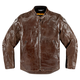 Brown Leather Retrograde Jacket