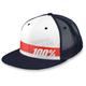 Navy/White Bonneville Trucker Hat - 20031-015-01