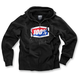 Black Official Zip Up Fleece